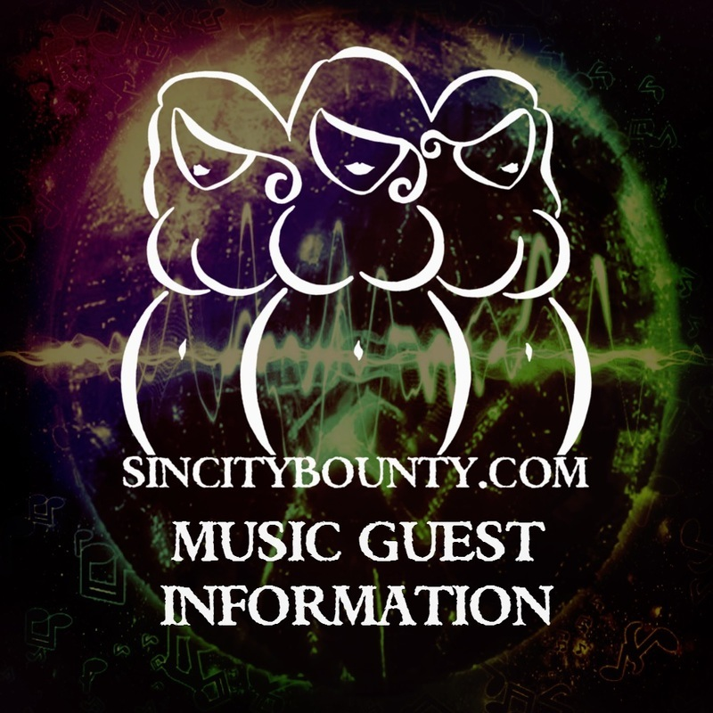 Be A Musical Guest on Sin City Bounty