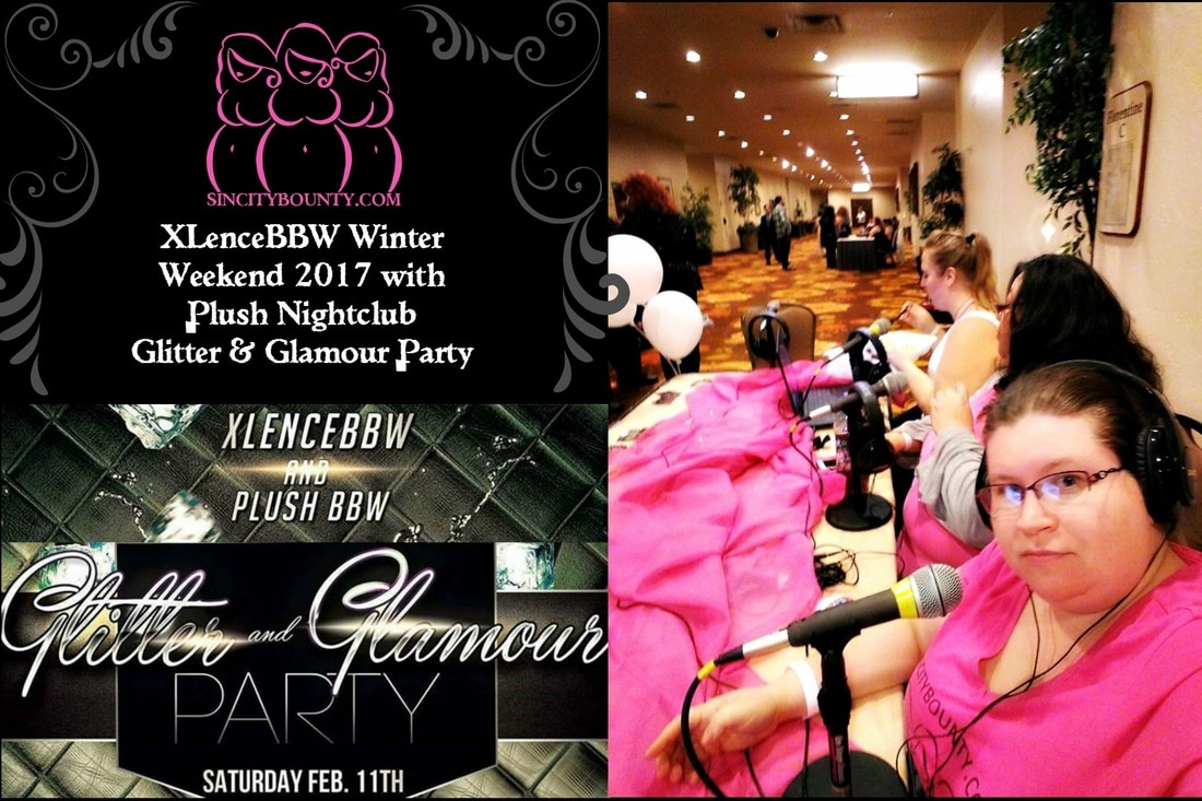 XLenceBBW Winter Weekend 2017 with Plush Nightclub Glitter & Glamour Party